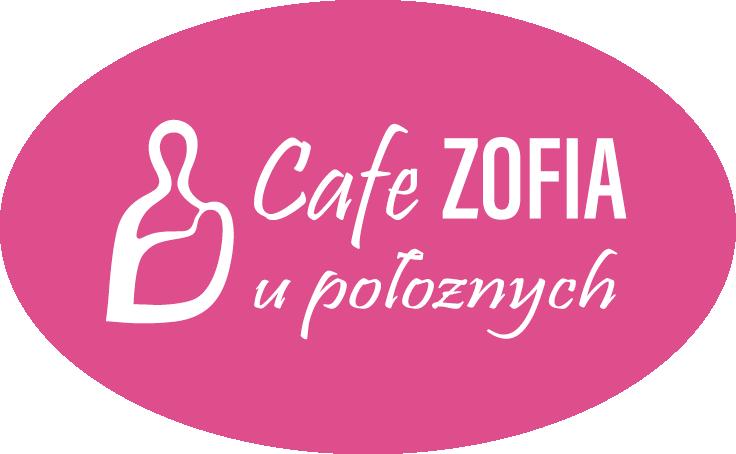 """Logo Cafe Zofia Kawiarnia U Położnych Centrum Medyczne """"Żelazna"""""""